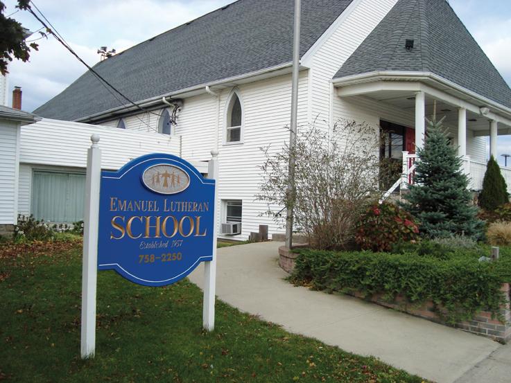 emanuel lutheran school
