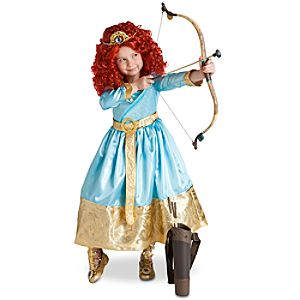 Merida Brave Disney Kids Costume