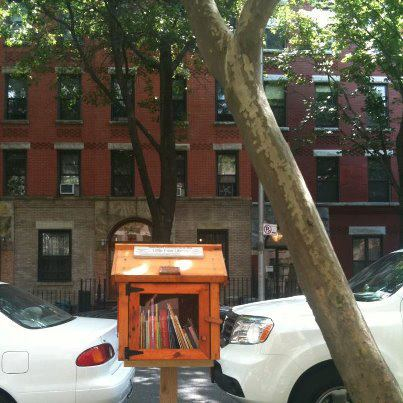Little Free Library in Brooklyn