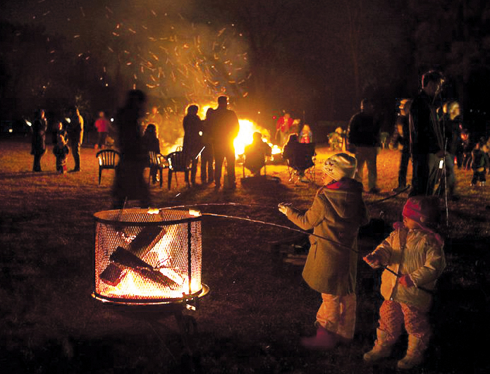 bonfire night at boscobel