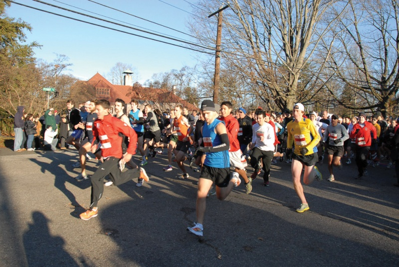 thanksgiving day race in southport ct
