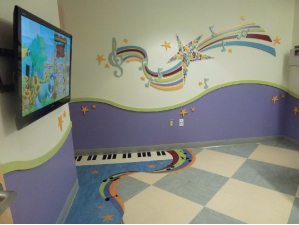 New Patient Care Room at St. Mary's Hospital for Children