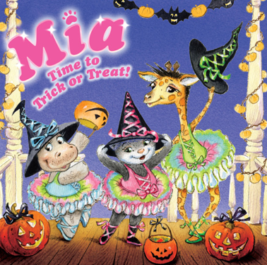 Mia Time to Trick or Treat!