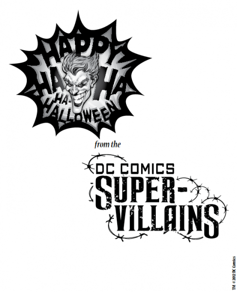 Super-Villains Activity Pack