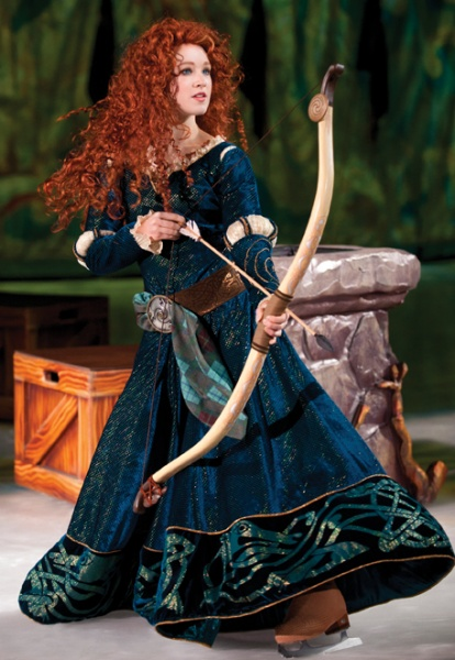 Merida from Brave, Disney on Ice