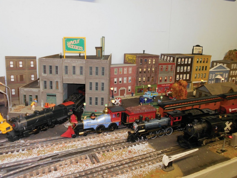 St. James train show
