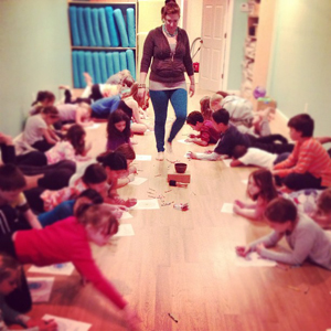 Prasanthi Yoga kids workshop