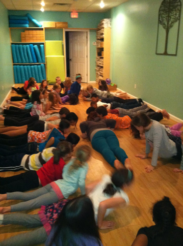stormy yoga at prasanthi yoga in pelham ny
