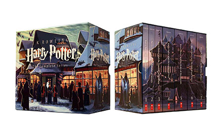 Special Edition Harry Potter Paperback Box Set at the Scholastic Store