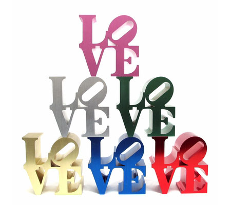 Robert Indiana Love paperweight