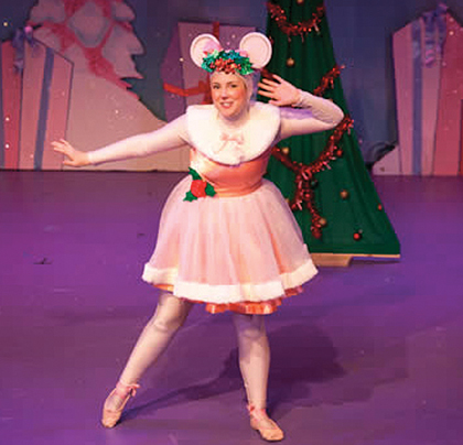 Angelina Ballerina the Very Merry Holiday Musical