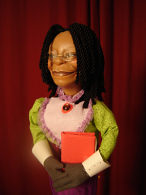 Whoopi Goldberg puppet