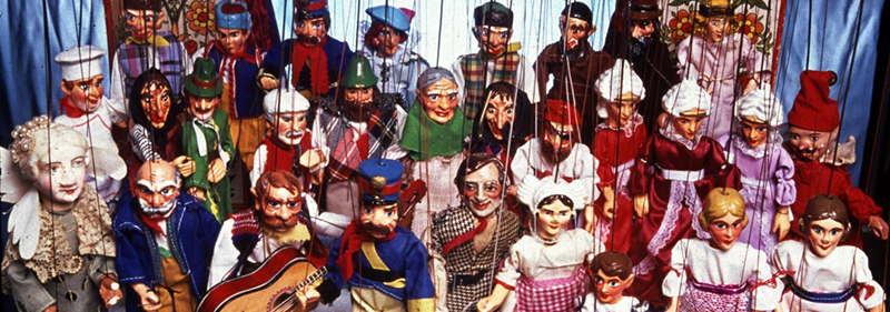 christmas carol puppets