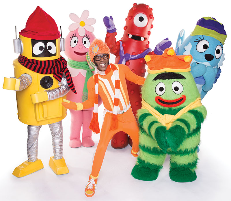 yo gabba gabba holiday show