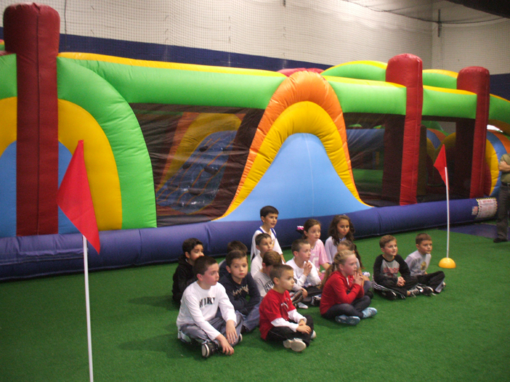 birthday party at give it your all sports