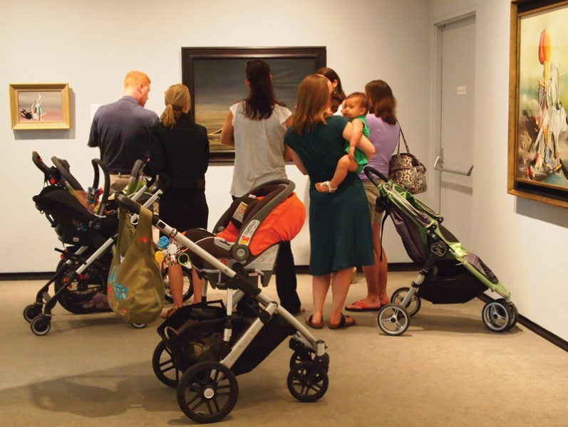 Stroller Tours at Katonah Museum of Art