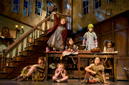 Annie the Musical on Broadway