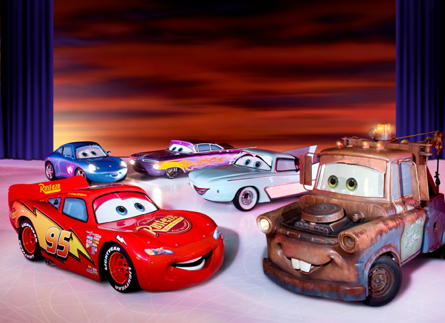 disney on ice worlds of fantasy, cars