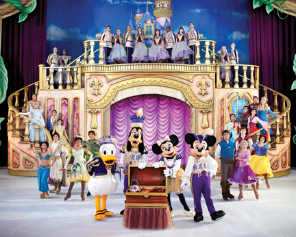 Disney on Ice Treasure Trove full cast
