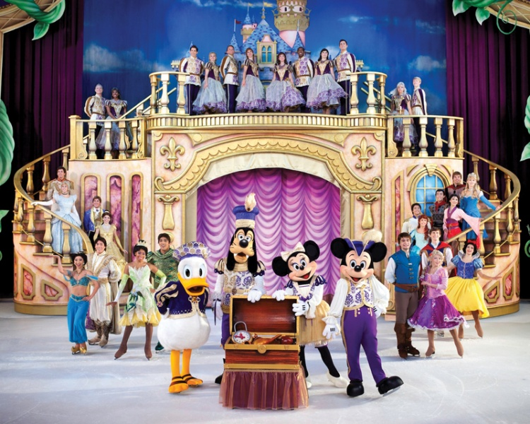treasure trove, disney on ice