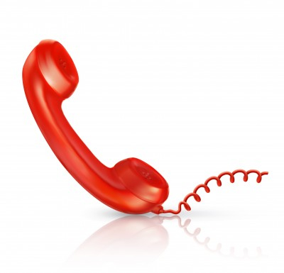 red telephone help line
