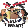 David Weinstone Presents Music for Aardvarks and Other Mammals All I Want! Album Artwork