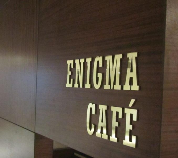 Enigma Cafe at MoMath