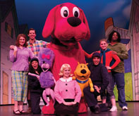 Clifford the big red dog musical