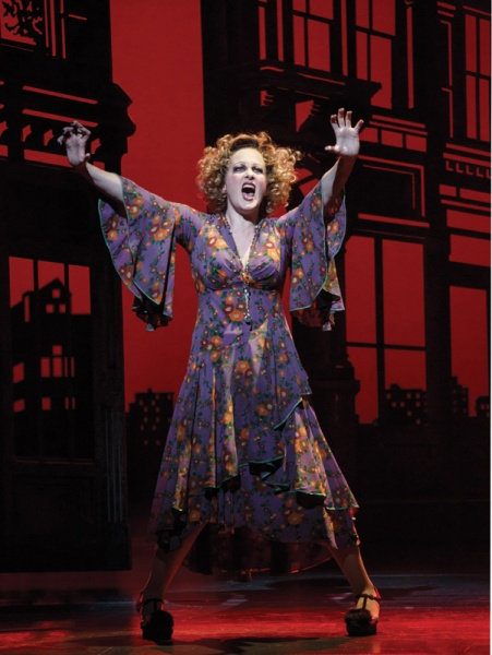 Katie Finneran as Ms. Hannigan in Annie