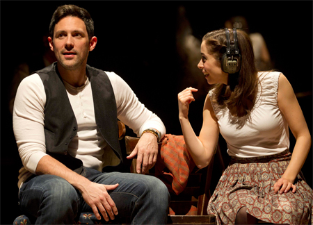 Once's Steve Kazee and Cristin Milioti