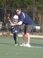 lacrosse player and coach