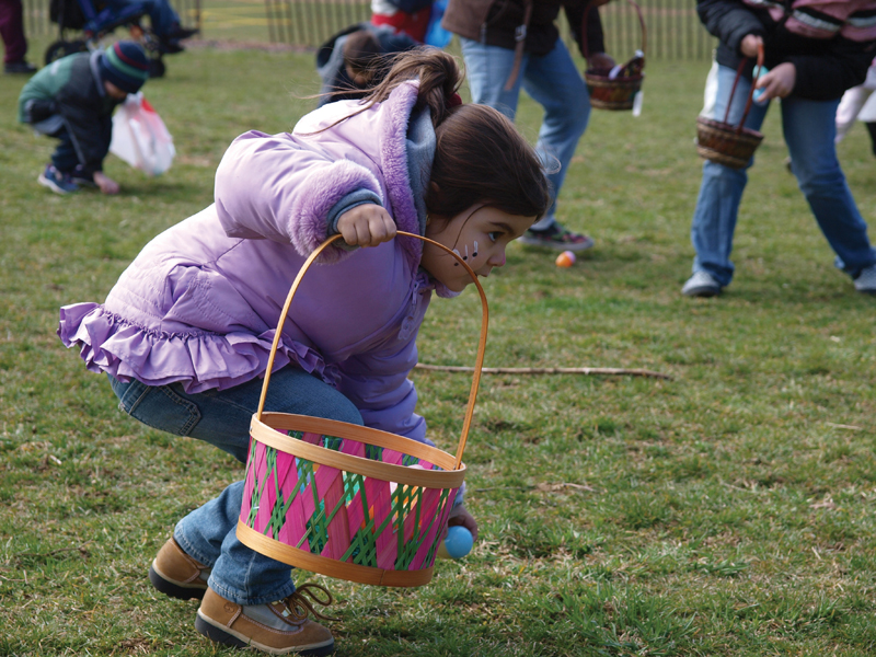 easter egg hunts in queens nyc