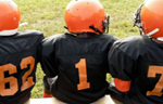 Pee Wee Football Players