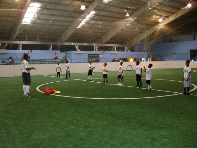 indoor soccer field at pacplex
