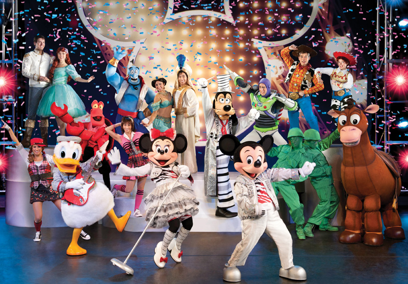 Disney Mickey's music festival 2013