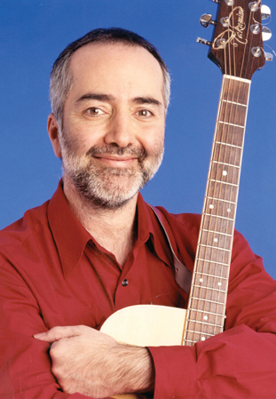 Raffi with guitar