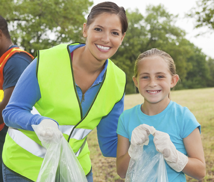 volunteer for earth day