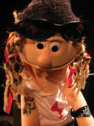 technodrone show puppet