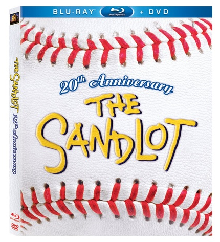The Sandlot 20th anniversary edition cover