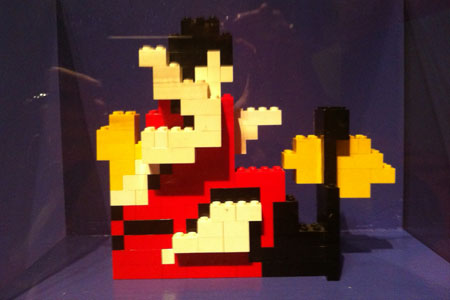"Legos from the White Stripes' ""Fell in Love With a Girl"" video"