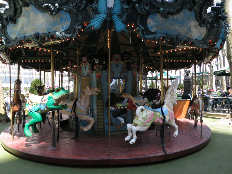 Le Carrousel in Bryant Park NYC