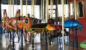 bug carousel at bronx zoo