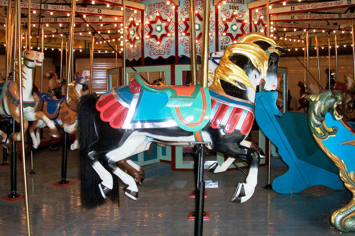 heckscher carousel in west hempstead long island ny
