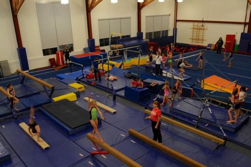 The Darien YMCA gymnastics facility