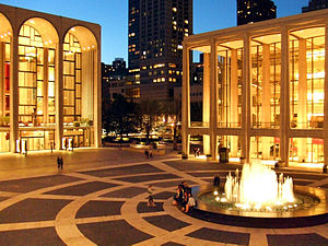 Lincoln Center for the Performing Arts, New York City