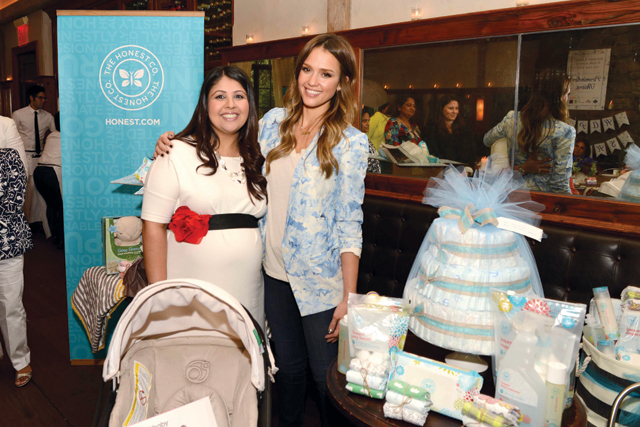 Perminder Thiara and Jessica Alba Honest Company Baby Shower