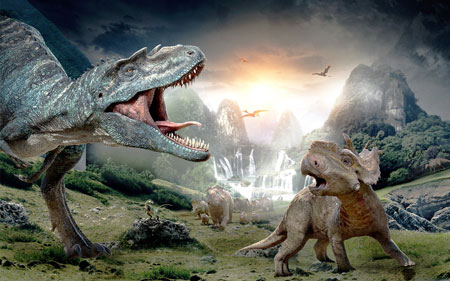 Walking with Dinosaurs at Barclays Center