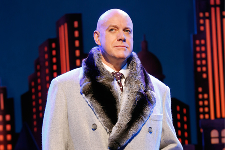 Anthony Warlow in Annie on Broadway