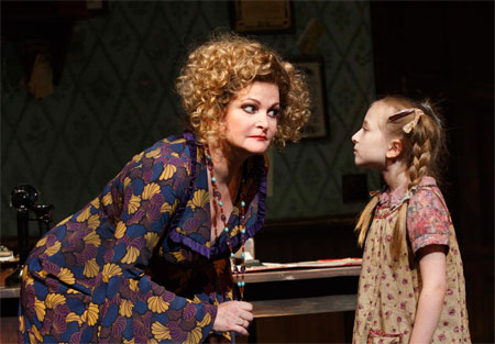 Faith Prince and Emily Rosenfeld in Annie
