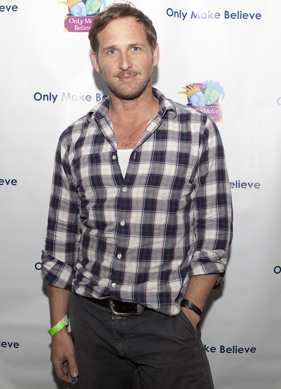 josh lucas at nyc charity event